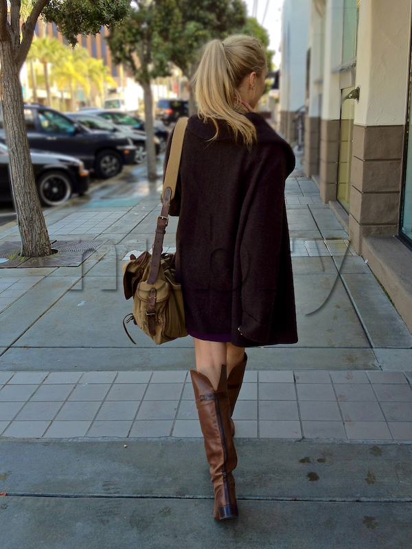 flat boots with dresses how to wear