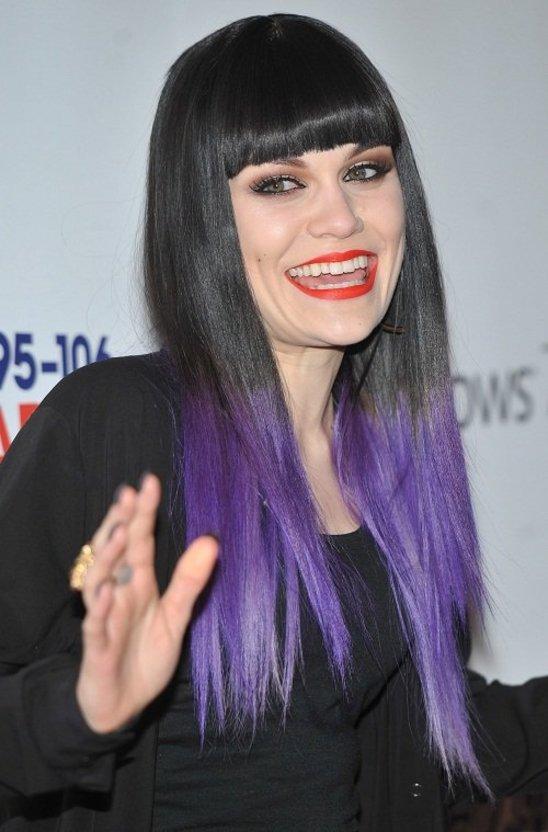 Jessie J ombre hair