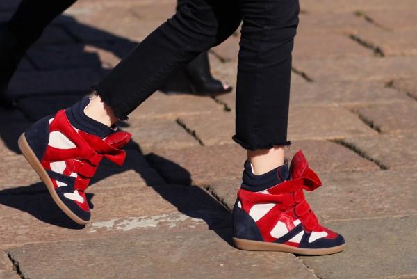 Isabel Marant hidden wedge sneakers