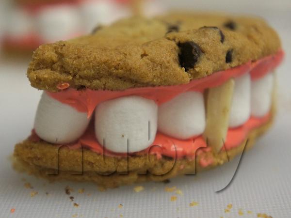 dracula dentures holiday treat