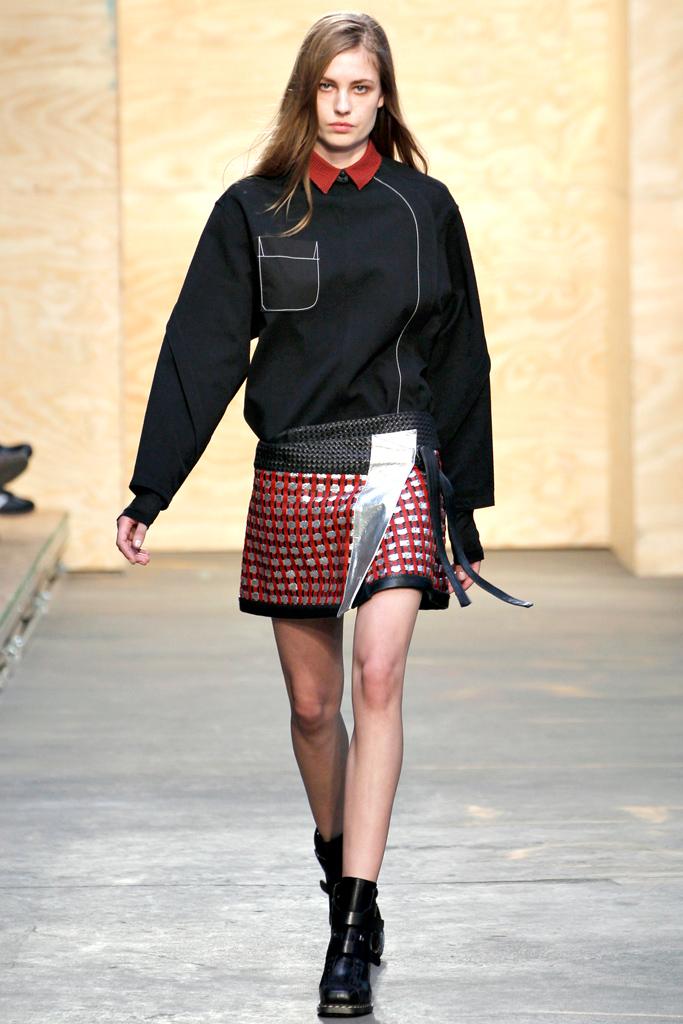Fashion sweatshirt as seen on fall 2012 runways