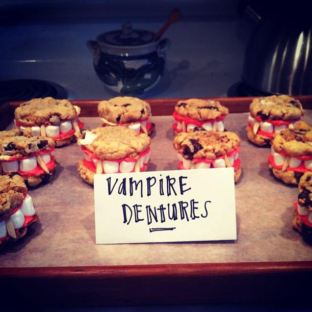 dracula vampire dentures