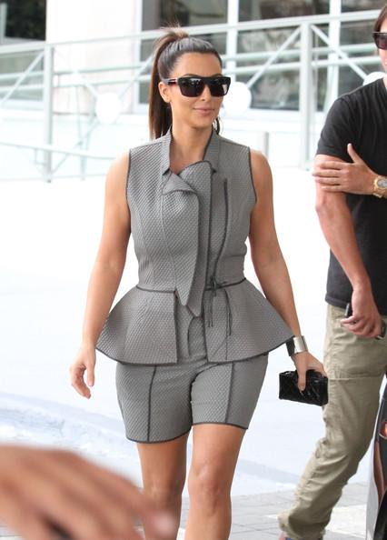 kim-kardashian-peplum-short-suit
