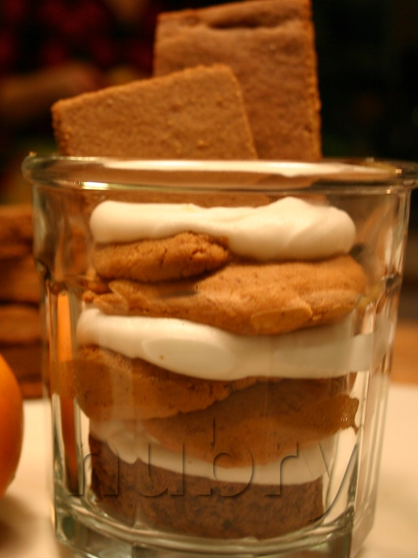 pumpkin pie recipe, holiday parfait