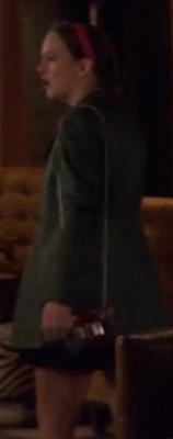 Blair waldorf christian louboutin mini Sweet Charity red plaid bag season 6