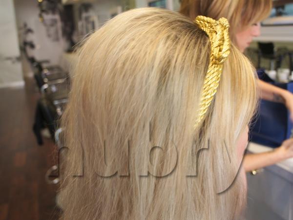 Bridget bardot hair Braided Updo Holiday Hairstyle Blowpop Dry Bar 2