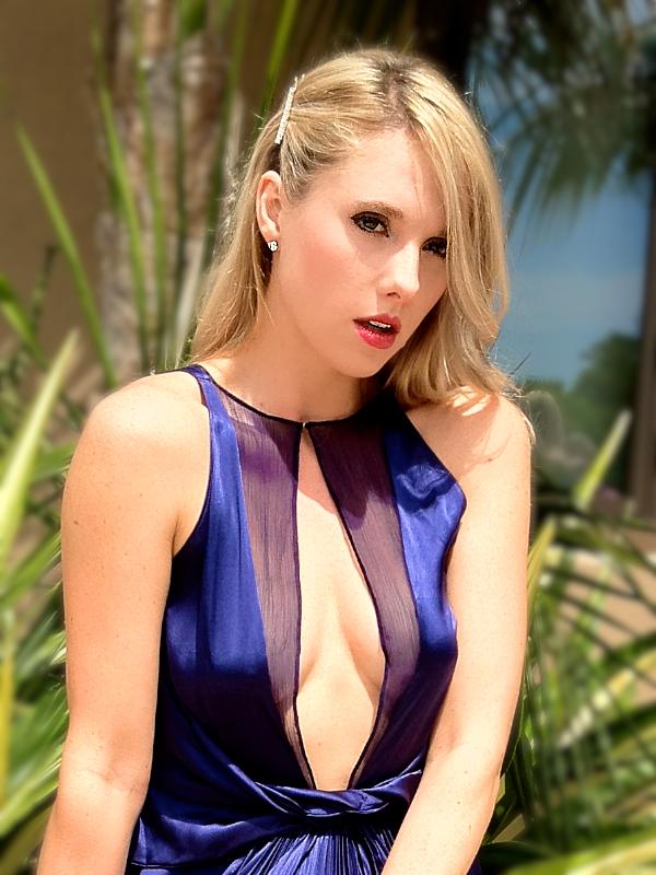 Gretchen hackmann Miss California 2013 Blue Dress