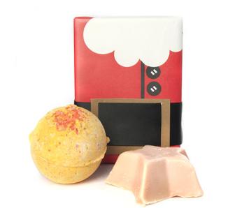 LUSH Secret Santa Soap Set
