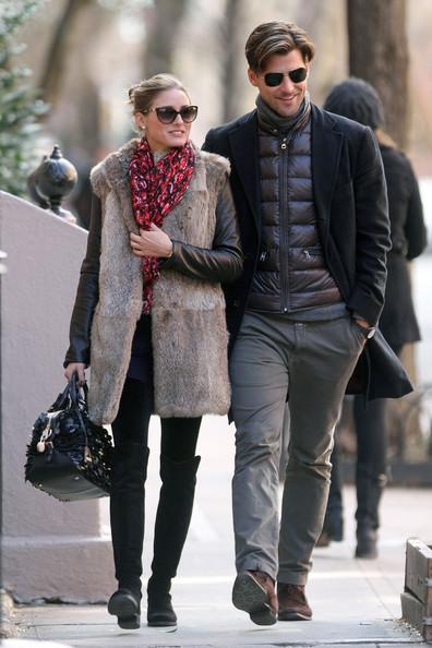 olivia palermo valentino primavera water resistant tote fur vest