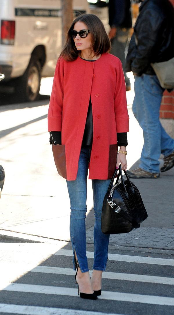 olivia-palermo-zara-jeans antigona givenchy bag