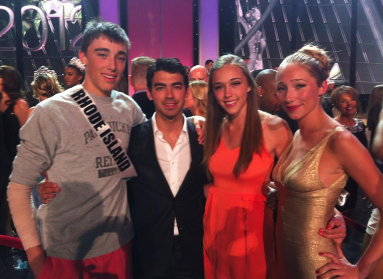 Aurora Culpo Sophie Culpo Gus Culpo at Miss Universe