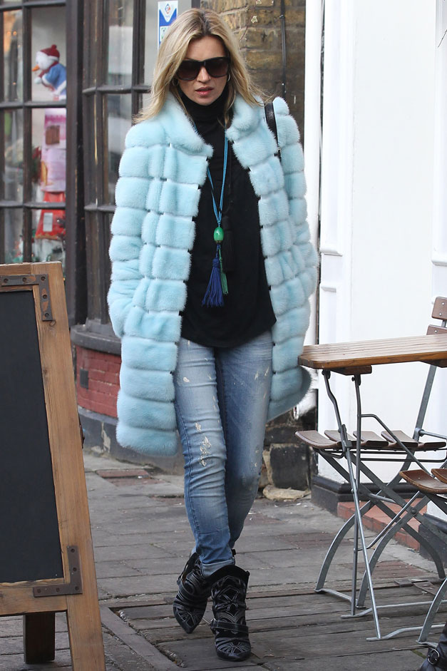 Kate-Moss-model-Isabel-Marant-western-boots