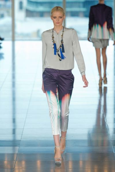 Matthew williamson tassel spring 2013 runway necklace