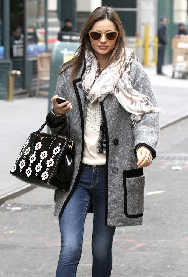 Miranda-Kerr-isabel marant sweater coat