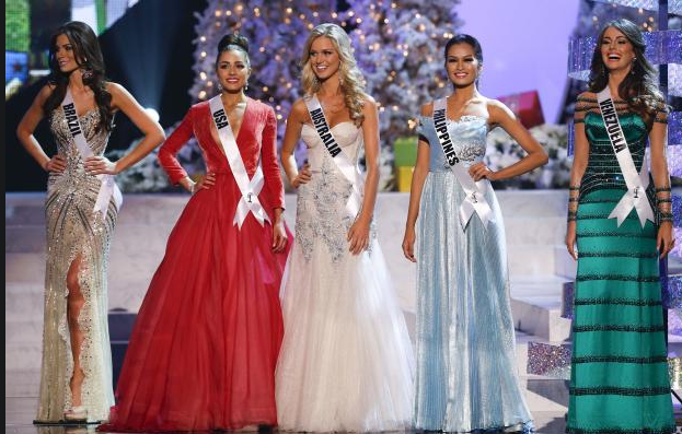 Olivia Culpo and finalist at Miss Universe 2012