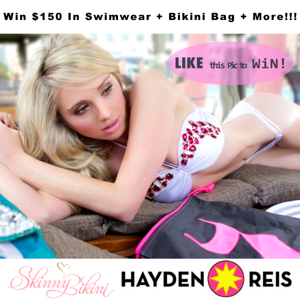 Skinny Bikini Swimwear Hayden Reis Spring 2013 Giveaway Nubry Gretchen Hackmann BeachBody 600x600 ad