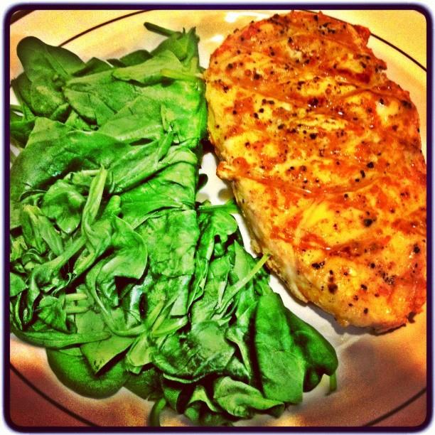 grilled chicken spinach miss california usa 2013 diet
