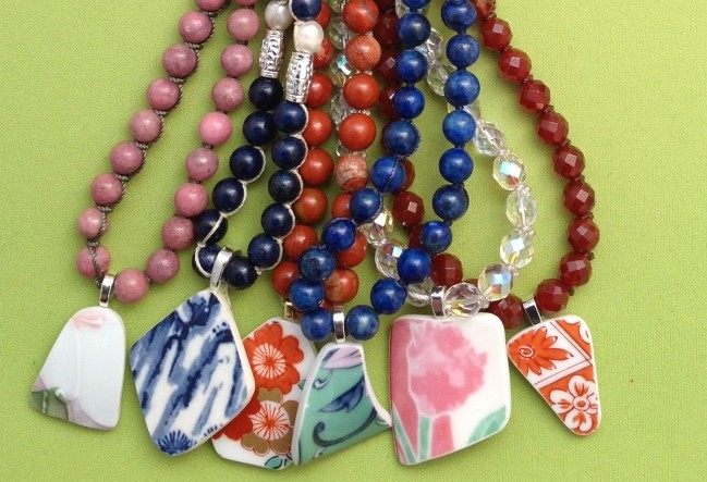 nozomi project necklaces for charity in japan