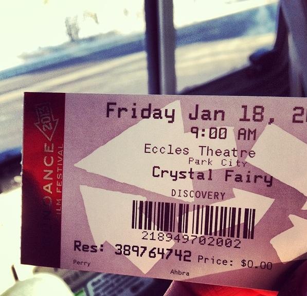 ticket to sundance crystal fairy
