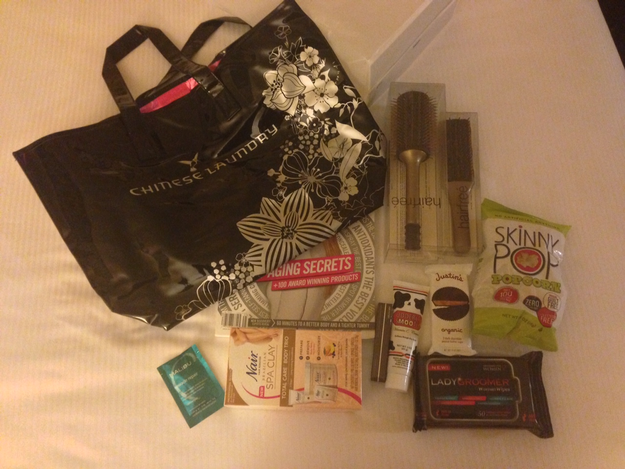 Miss california pageant goodie bag