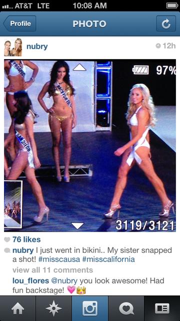 Gretchen Hackmann bikini miss california