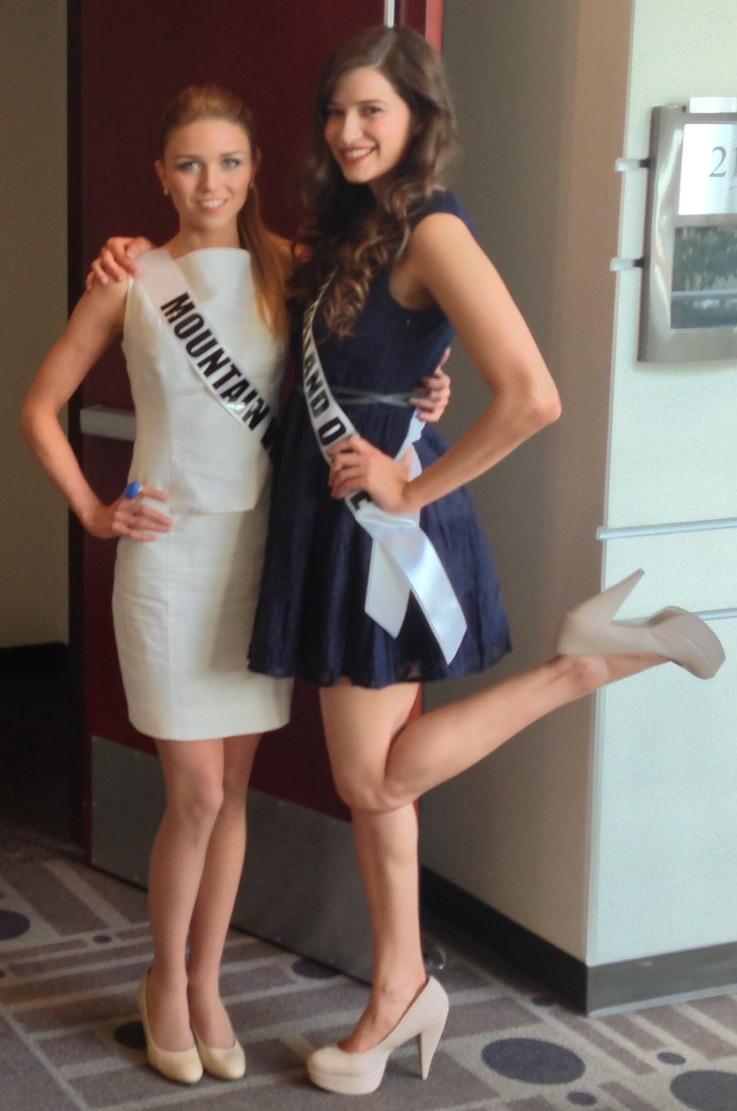 Trea Erdman Miss Mountain View and Marissa Perplies (Miss Mulholland Drive)