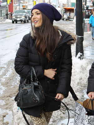 sundance 2012 victoria-justice what to wear leopard pants
