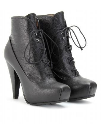 Beyonce Black lace up Proenza Schouler Superbowl halftime boots