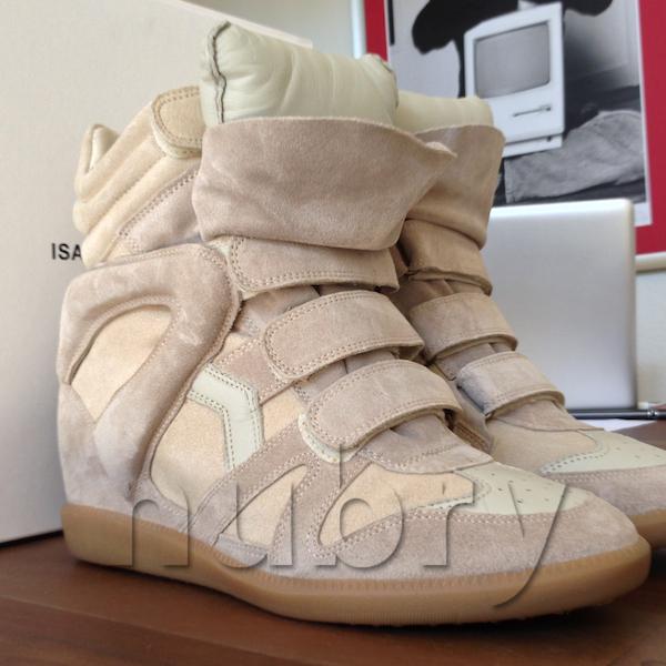 Isabel Marant Bekkett Platform Wedge Sneaker