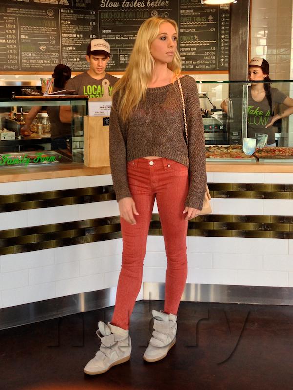 Isabel Marant Bekkett Wedge Platform Sneaker gretchen Hackmann Nubry San Diego Fashion Blog