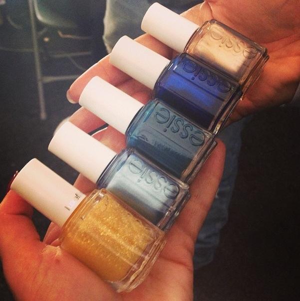 essie polish nail color rebecca minkoff fall 2013 manicure
