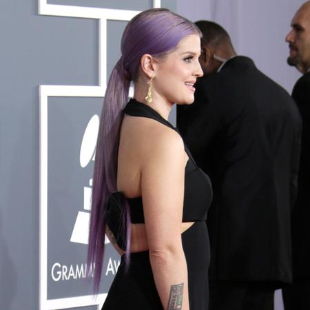 Kelly osbourne pastel purple hair