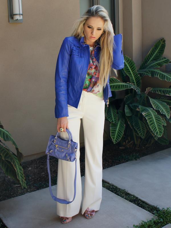 White Pants for Spring - Escada Spring 2013