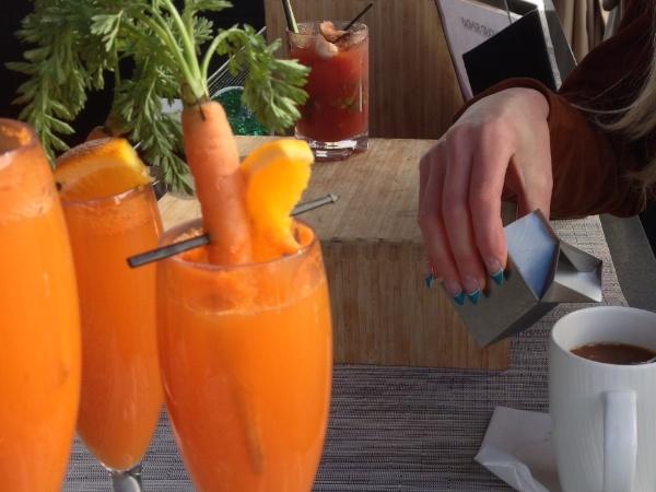 W Hotel San Diego Invites CFDA {FASHION INCUBATOR} For carrot bellini