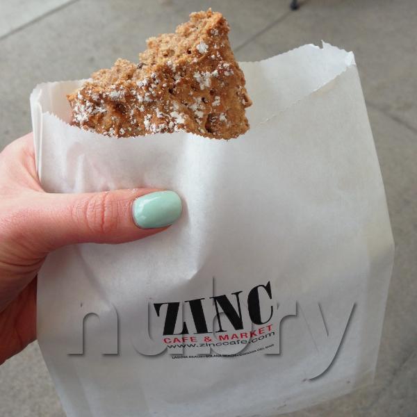 Zinc Cafe on Cedros Ave San Diego - Zinc Cafe Oat Cake