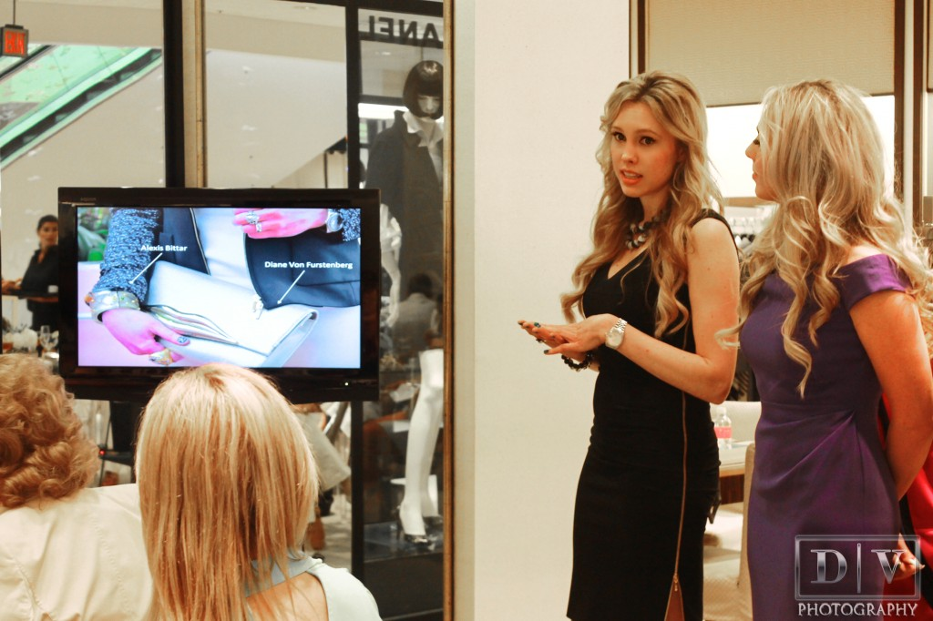escada spring 2013 lunch trunk show at Neiman Marcus host Nubry 2