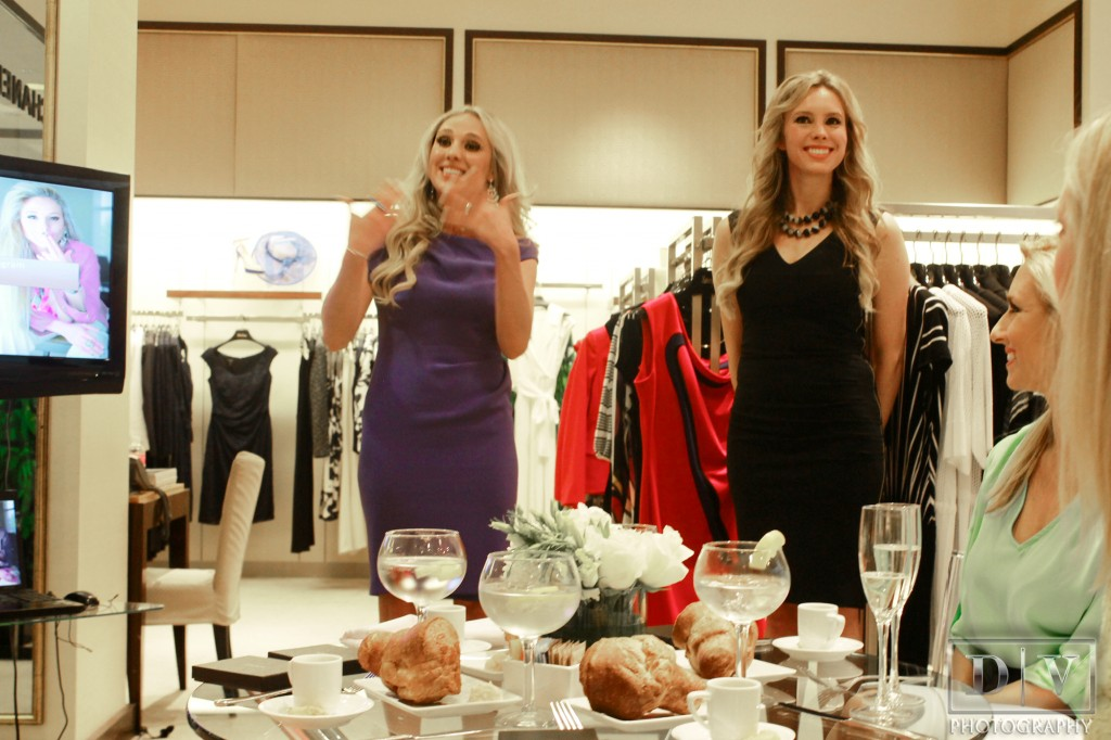 escada spring 2013 lunch trunk show at Neiman Marcus host Nubry 3