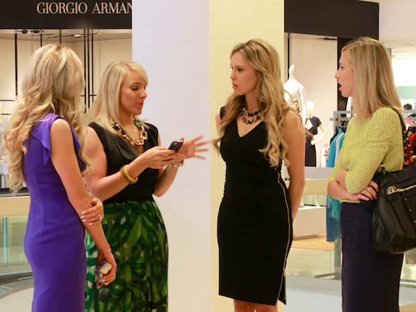 escada spring 2013 lunch trunk show at Neiman Marcus hosted by Nubry 1