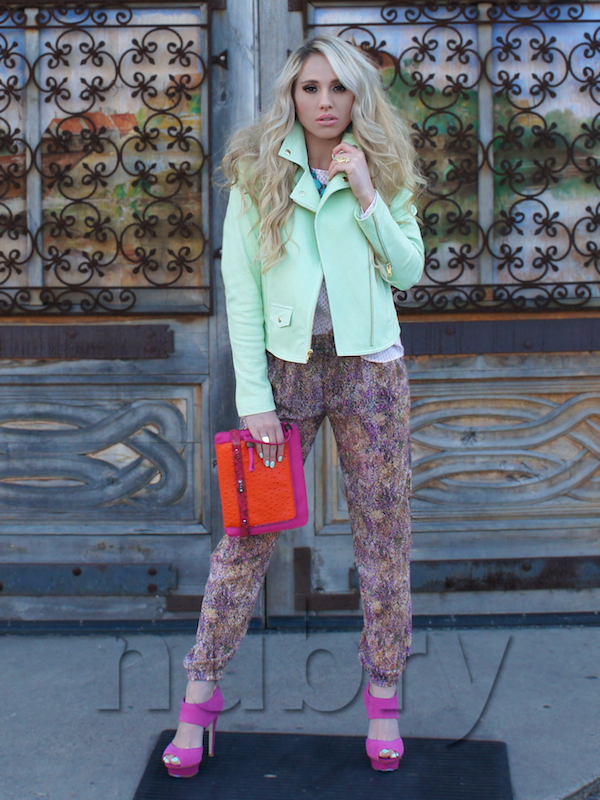 Pastel Outfit and Cusp Spring Event at Neiman Marcus