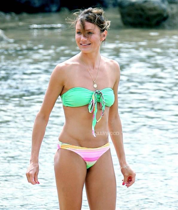 how to flatter your bikini body type cameron diaz