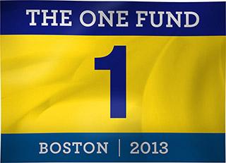One Fund Boston flag Boston marathon bombings