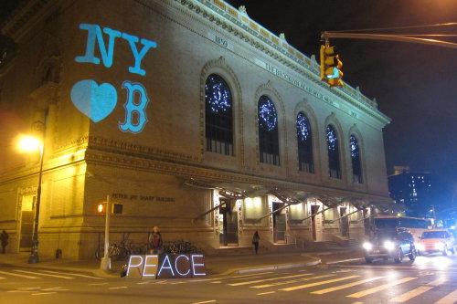 Boston Marathon Bombing victims new york loves boston