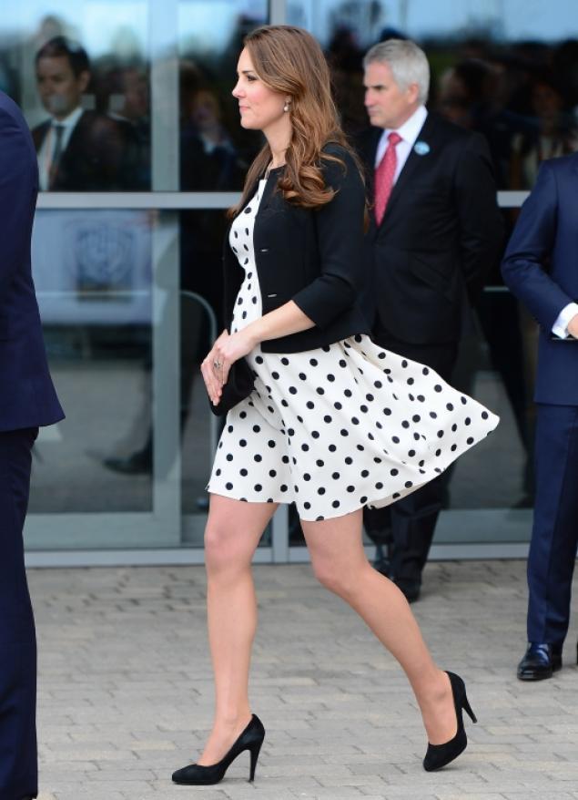 kate middleton polka dot topshop dress