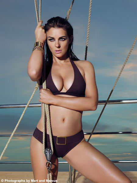 Elizabeth Hurley's Bikini Body