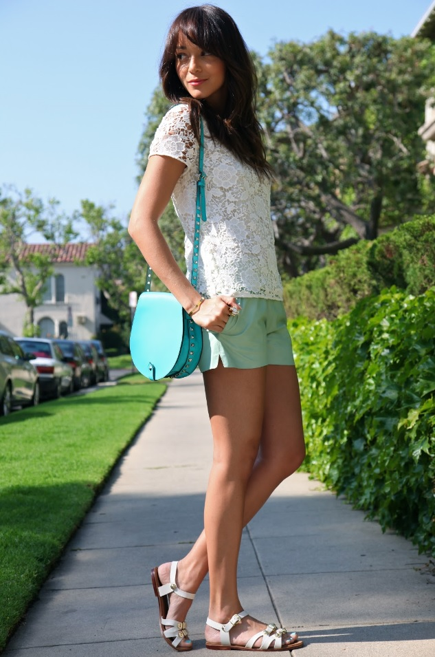 775b82818ce8b1 ... flip flops with skinny jeans. Ashley Madekwe wearing leather buckle sandals  summer 2013. Ashley Madekwe wears leather