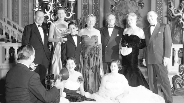 A photograph of The Goodman Family. Photo from the documentary movie, Scatter My Ashes at Bergdorf's. Photo credit: Entertainment One