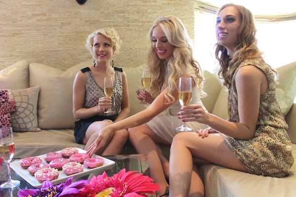 Classy bachelorette party ideas - Andaz Hotel San Diego Rockstar Suite 1