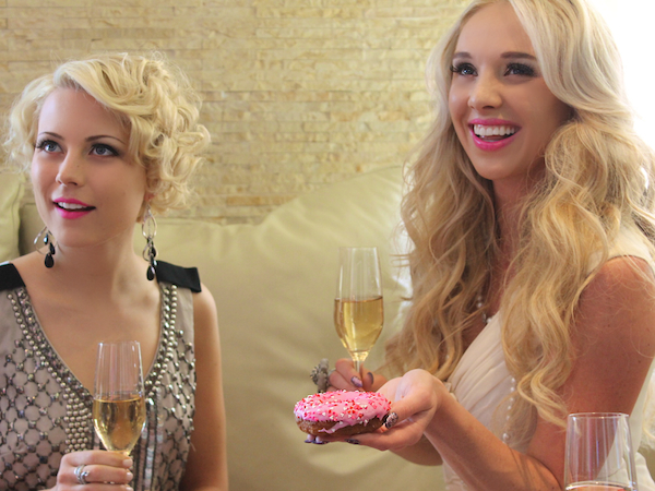 Classy bachelorette party ideas - Andaz Hotel San Diego Rockstar Suite 2