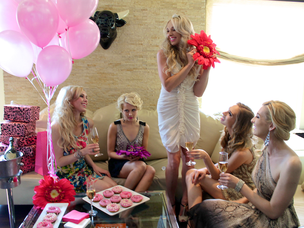 Classy bachelorette party ideas - Andaz Hotel San Diego Rockstar Suite 3