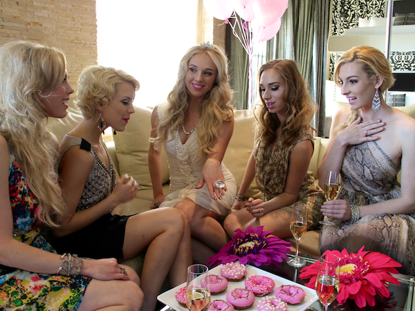 Classy bachelorette party ideas - Andaz Hotel San Diego Rockstar Suite 5